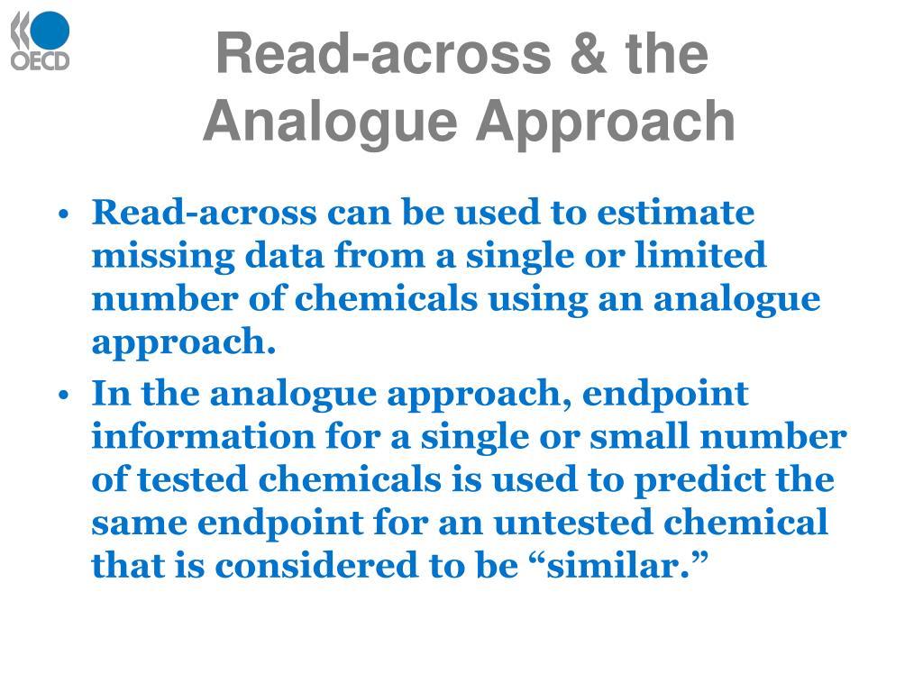 Read-across & the