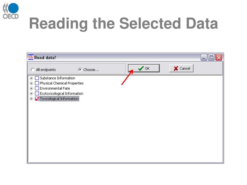 Reading the Selected Data