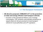 1 1 the european framework5