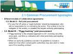2 1 common procurement typologies1