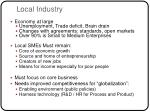 local industry
