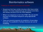 bioinformatics software19