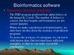 bioinformatics software21