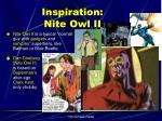 inspiration nite owl ii