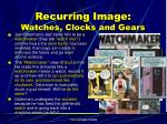 recurring image watches clocks and gears