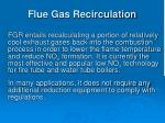 flue gas recirculation