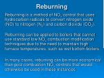 reburning