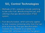so x control technologies