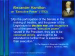 alexander hamilton on executive power 1793