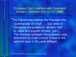 congress can t interfere with command hamdan v rumsfeld 548 u s 507 2006