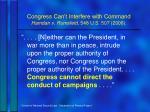 congress can t interfere with command hamdan v rumsfeld 548 u s 507 20061