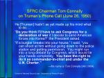 sfrc chairman tom connally on truman s phone call june 26 1950
