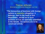 thomas jefferson memorandum to president washington april 17903