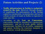 future activities and projects 2
