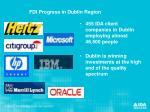 fdi progress in dublin region