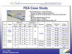 fea case study