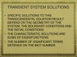 transient system solutions2