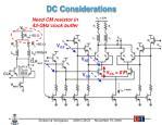 dc considerations