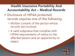 health insurance portability and accountability act medical records1