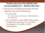 health insurance portability and accountability act medical records2