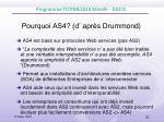 pourquoi as4 d apr s drummond