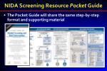 nida screening resource pocket guide1