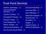 trust fund services