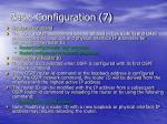 basic configuration 7