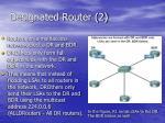 designated router 2