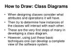 how to draw class diagrams1
