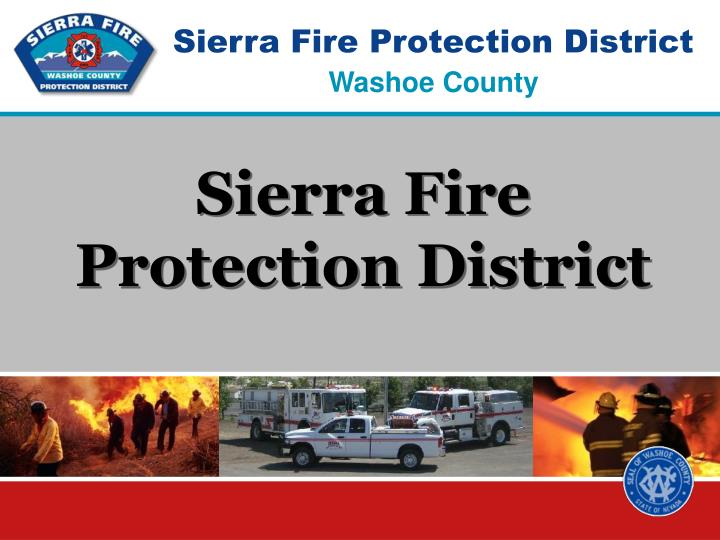 sierra fire protection district n.