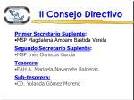 ii consejo directivo1