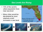 areas of florida to flood if average sea level rises by one meter