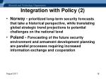integration with policy 2