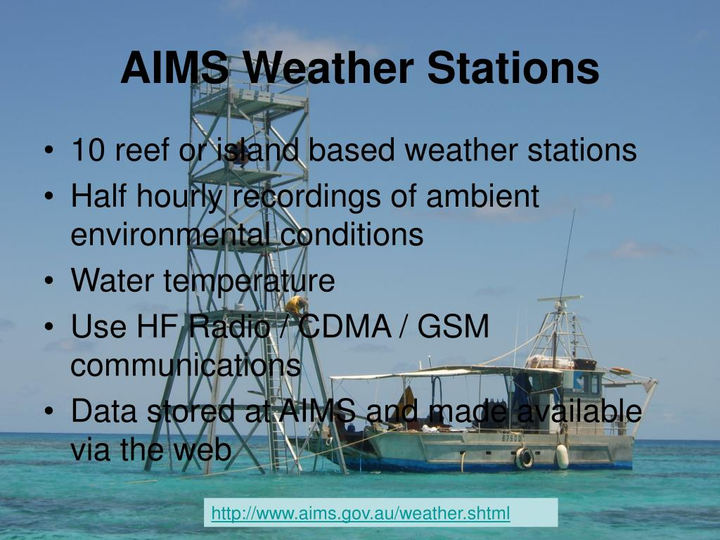 AIMS Weather Stations