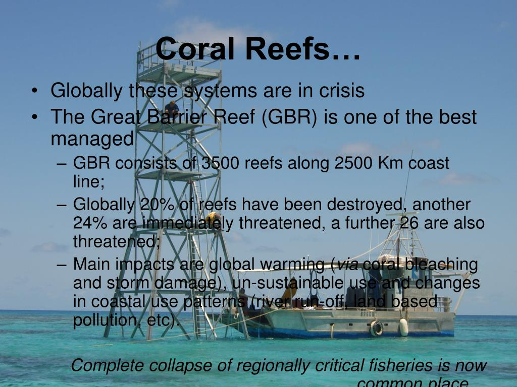 Coral Reefs…