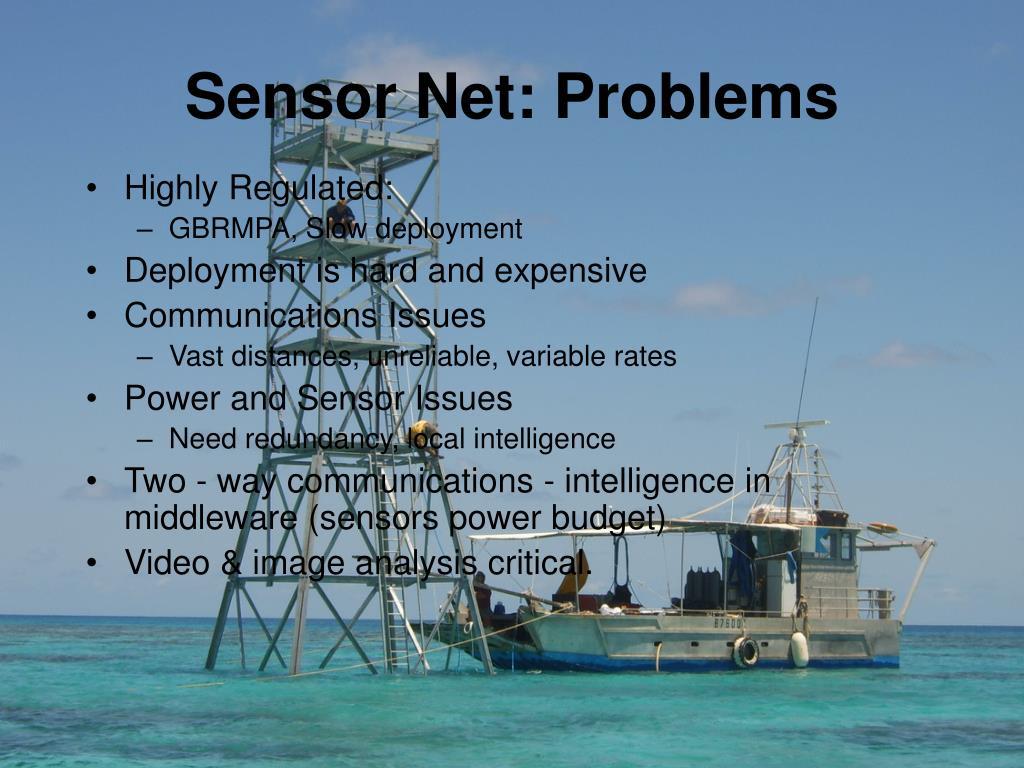 Sensor Net: Problems