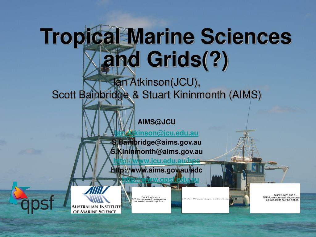 tropical marine sciences and grids l.
