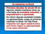 as ind strias no brasil