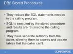 db2 stored procedures