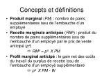 concepts et d finitions