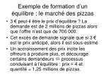 exemple de formation d un quilibre le march des pizzas2