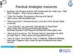 practical strategies resources