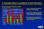 2 similarly there is a problem of skill allocation