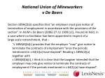 national union of mineworkers v de beers3
