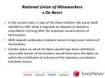national union of mineworkers v de beers4