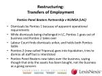 restructuring transfers of employment1