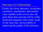 outcomes of collaboration