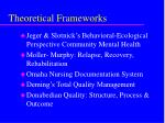 theoretical frameworks