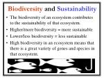 biodiversity and sustainability1
